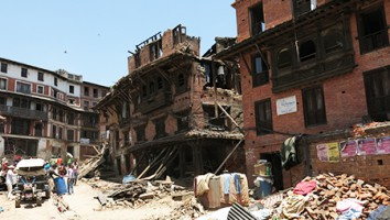 Aftershock Disaster in Nepal 2