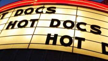 Hot Docs marquee. Photo: Paul Galipeau