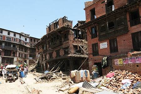 Aftershock Disaster in Nepal 2