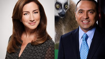 Angela Recio Sondon (left), Allan Navarrete (right)