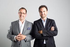 marblemedia's Mark Bishop and Matt Hornburg