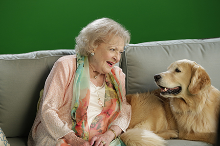 Betty White, Host of Discovery Family Channel's PAWGUST