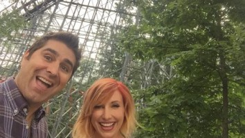 Kari Byron and Tory Belleci