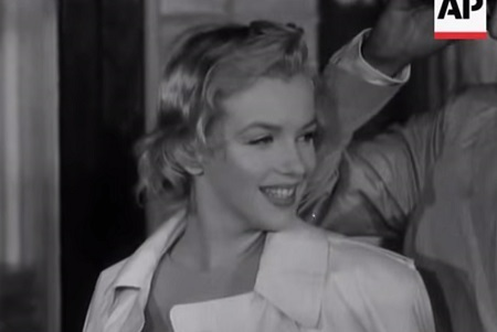 Marilyn Monroe AP British Movietone