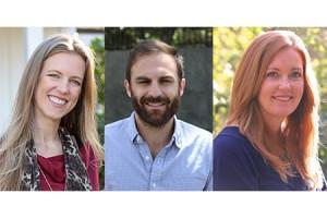 Angela Teed, Suzanne Rauscher, Scott Hunter
