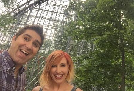 Kari Byron and Tory Belleci