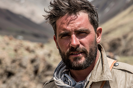 Levison Wood in the Irshad Valley of the Wakhan Corridor in Afghanistan