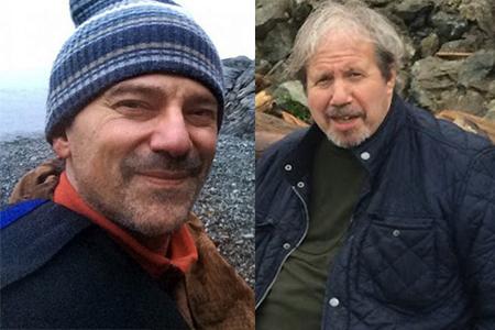 Hurt executive producer Peter Gentile (left) and director Alan Zweig.