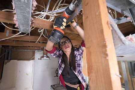 Carolina Sullivan, host of DIY Network's Miami Rehab.