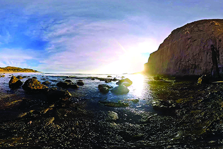 DiscoveryVR's Half Moon Bay virtual reality project