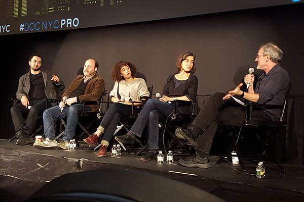 Distribution panel at DOC NYC
