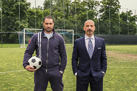 Gianluca Vialli and Lorenzo Amoruso