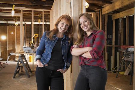 Karen Rominger and Mina Starsiak of Good Bones.