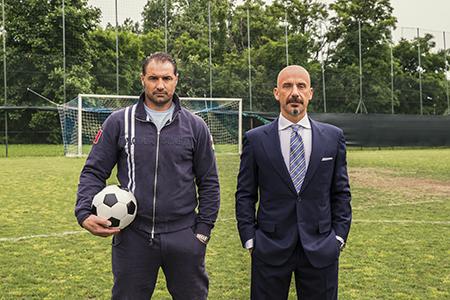 Gianluca Vialli and Lorenzo Amoruso