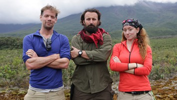 Trailblazers Jeff, Shaun, Jess in Ecuador