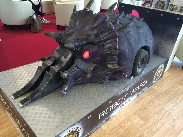 Matilda, a house robot from BBC2's Robot Wars