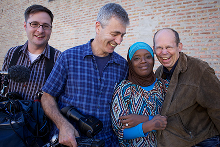 Steve James with Ameena Matthews of The Interrupters