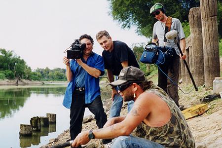Filming Stevie
