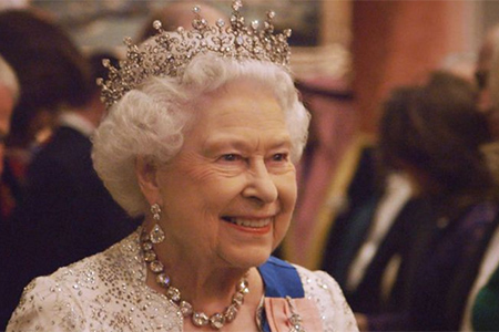 Our Queen at 90