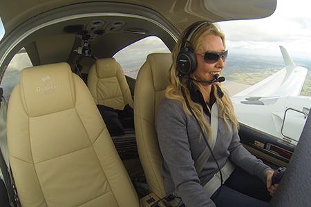 Carol's Incredible Solo Flight Around The World
