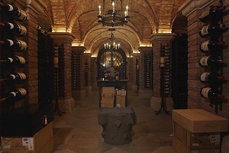 Bill Koch's wine cellar