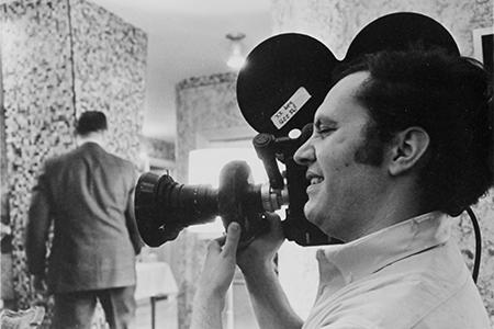 Quinn shooting Thumbs Down in 1967.