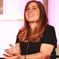 """OWN's Maitee Cueva speaks at """"Make or Break: Understanding Your Audience"""""""