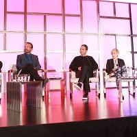 "YouTube Originals' Ben Relles, Barcroft Media's Sam Barcroft, Studio 71's Rabih Gholam, Fullscreen's Ashley Kaplan and AwesomenessTV's Shauna Phelan on ""Full Stream Ahead"""