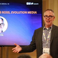 Evolution Media founder and CEO Douglas Ross during his Meet A Mentor session