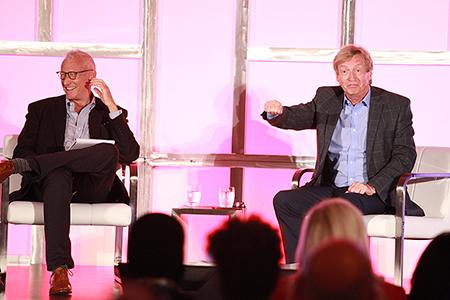 Pact U.S. president David Lyle (left) and Nigel Lythgoe.