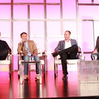 MGM Television's Barry Poznick, TLC's Howard Lee, 3 Ball's DJ Nurre and ITV Entertainment's David Eilenberg talk development.