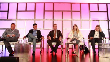 Apploff Entertainment's Jeff Apploff, Talpa Media's Jay Bienstock, Pilgrim Media Group's Johnny Gould, DanceOn's Amanda Taylor and Format People's Michel Rodrigue talk second screen and apps.