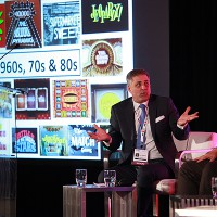 "dick clark company's mark l. walberg moderates the ""game on: 75 years of game shows"" panel"