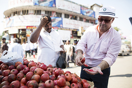 Hyderabad, India with Andrew Zimmern