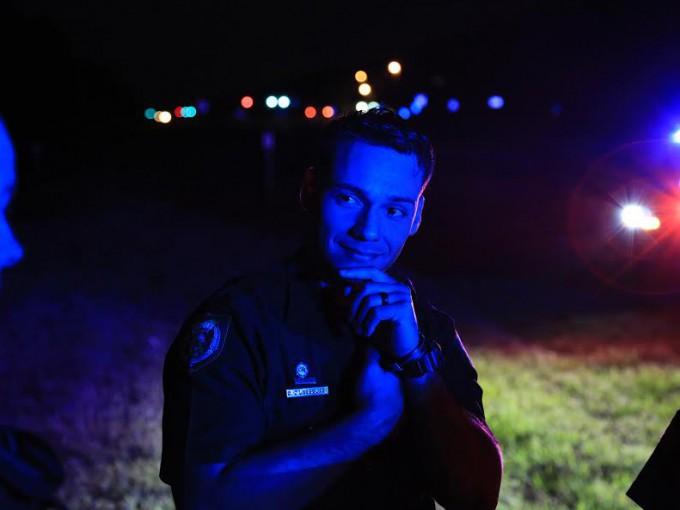 Walton County, Florida  Deputy Oscar DLassalas on the evening shift