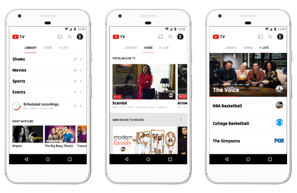 YouTube TV -2