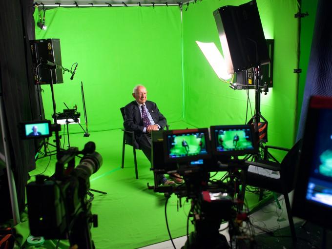 Ralph Stanton BTS Holocaust Survivors Testimonies Project (c) Atlantic P...