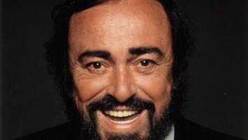 Pavarotti - credit Terry O'Neill, Decca