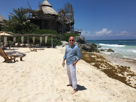 Travel Channel Is Set To Premiere A Series Hosted By Hospitality Expert Anthony Melchiorri Extreme Hotels Pictured Follows As He Explores