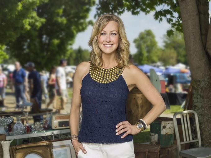 Lara Spencer, host of Flea Market Flip.