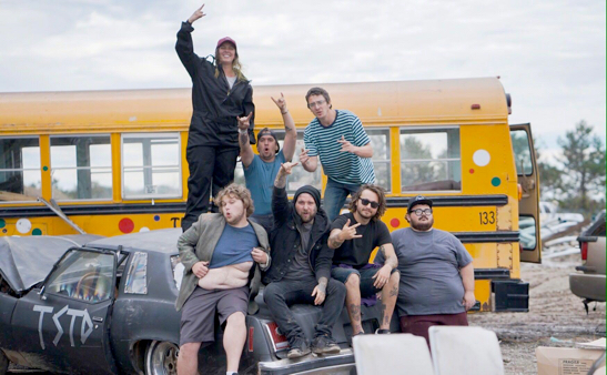 Too Stupid to Die Cast Photo