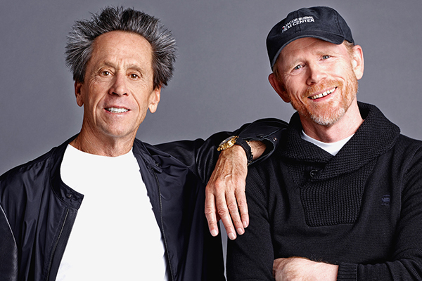 Brian Grazer and Ron Howard