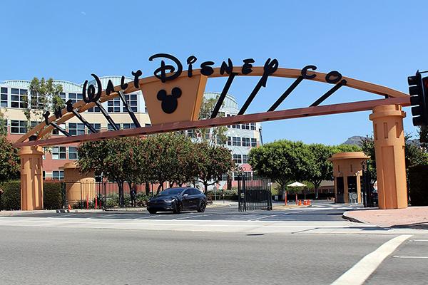 Walt Disney Studios Alameda Entrance