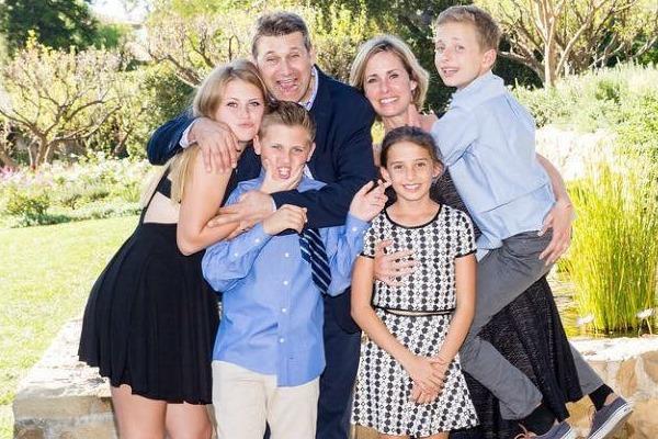 Eliot Goldberg and family