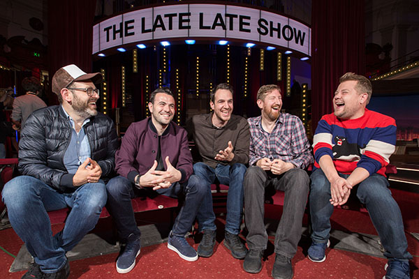 Meet the team that helped make James Corden Late Late Show