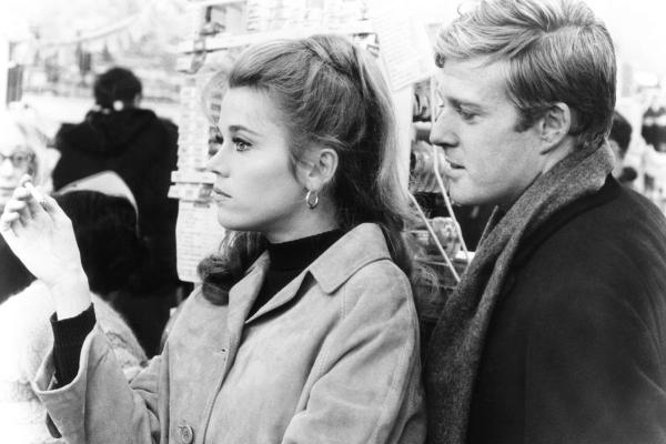 barefoot in the park, from left: jane fonda, robert redford, 1967