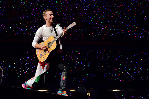 Coldplay to release career-spanning movie next month