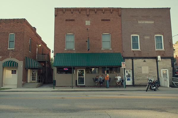 Monrovia, Indiana Main Street Storefront