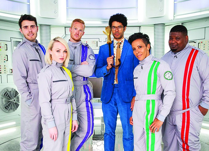 The Crystal Maze: Celebrity Episode 1