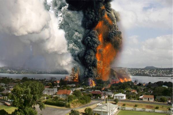 Volcano Creation and Destruction
